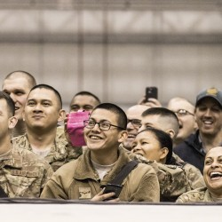 The Crowd at Bagram.